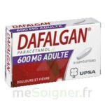 DAFALGAN ADULTES 600 mg, suppositoire à Carbon-Blanc