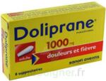 DOLIPRANE ADULTES 1000 mg, suppositoire à Carbon-Blanc