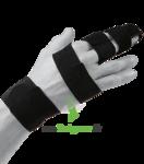 FINGER SPLINT EZY WRAP, taille 4 à Carbon-Blanc