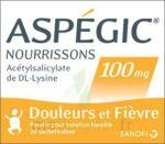 ASPEGIC NOURRISSONS 100 mg, poudre pour solution buvable en sachet-dose à Carbon-Blanc