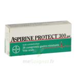 ASPIRINE PROTECT 300 mg, comprimé gastro-résistant à Carbon-Blanc
