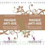 Secrets des Fées Masque Anti-Age Restructurant à Carbon-Blanc