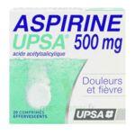 ASPIRINE UPSA 500 mg, comprimé effervescent à Carbon-Blanc