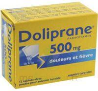 DOLIPRANE 500 mg Poudre pour solution buvable en sachet-dose B/12 à Carbon-Blanc