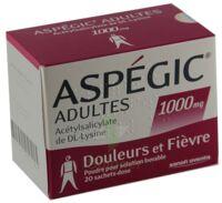 ASPEGIC ADULTES 1000 mg, poudre pour solution buvable en sachet-dose 15 à Carbon-Blanc