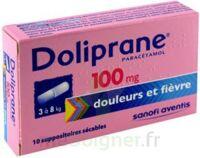 DOLIPRANE 100 mg Suppositoires sécables 2Plq/5 (10) à Carbon-Blanc