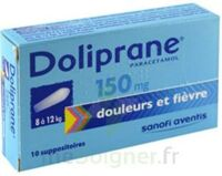 DOLIPRANE 150 mg Suppositoires 2Plq/5 (10) à Carbon-Blanc