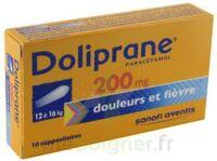 DOLIPRANE 200 mg Suppositoires 2Plq/5 (10) à Carbon-Blanc