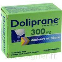 DOLIPRANE 300 mg Poudre pour solution buvable en sachet-dose B/12 à Carbon-Blanc