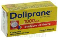 DOLIPRANE 1000 mg Comprimés effervescents sécables T/8 à Carbon-Blanc