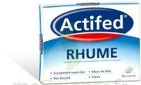 ACTIFED RHUME, comprimé à Carbon-Blanc