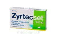ZYRTECSET 10 mg, comprimé pelliculé sécable à Carbon-Blanc