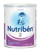 NUTRIBEN 2 PREBIOTIQUES PROBIOTIQUES, bt 800 g à Carbon-Blanc
