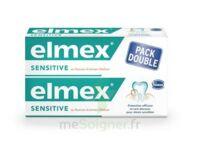 ELMEX SENSITIVE DENTIFRICE, tube 75 ml, pack 2 à Carbon-Blanc