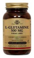 SOLGAR L-GLUTAMINE 500mg, 50 GEL VEG à Carbon-Blanc