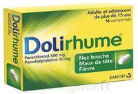 DOLIRHUME PARACETAMOL ET PSEUDOEPHEDRINE 500 mg/30 mg, comprimé à Carbon-Blanc