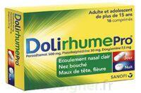 DOLIRHUMEPRO PARACETAMOL, PSEUDOEPHEDRINE ET DOXYLAMINE, comprimé à Carbon-Blanc