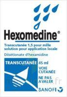 HEXOMEDINE TRANSCUTANEE 1,5 POUR MILLE, solution pour application locale à Carbon-Blanc