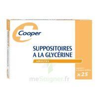 SUPPOSITOIRES A LA GLYCERINE COOPER Suppos en récipient multidose adulte Sach/25 à Carbon-Blanc