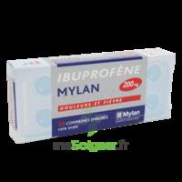 IBUPROFENE MYLAN 200 mg, comprimé enrobé B/30 à Carbon-Blanc