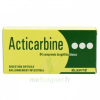 ACTICARBINE Comprimés enrobés B/84 à Carbon-Blanc