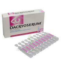 DACRYOSERUM Solution pour lavage ophtalmique en récipient unidose 20Unidoses/5ml à Carbon-Blanc