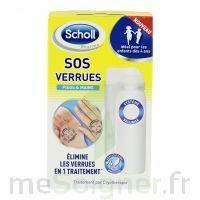 Scholl SOS Verrues traitement pieds et mains à Carbon-Blanc