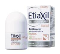 ETIAXIL Dé transpirant Aisselles CONFORT+ Peaux Sensibles à Carbon-Blanc