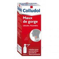 COLLUDOL Solution pour pulvérisation buccale en flacon pressurisé Fl/30 ml + embout buccal à Carbon-Blanc