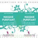 Secrets des Fées Masque Purifiant Eclat du Teint à Carbon-Blanc