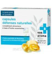 SOS AROMA Caps défenses naturelles à Carbon-Blanc
