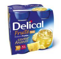 DELICAL BOISSON FRUITEE Nutriment ananas 4Bouteilles/200ml à Carbon-Blanc