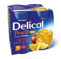 DELICAL BOISSON FRUITEE Nutriment multi fruits 4Bouteilles/200ml à Carbon-Blanc