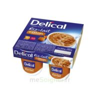 DELICAL RIZ AU LAIT Nutriment caramel pointe de sel 4Pots/200g à Carbon-Blanc