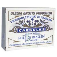 HUILE DE HAARLEM Caps B/30 à Carbon-Blanc