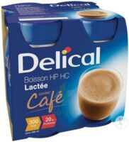 DELICAL BOISSON LACTEE HP HC, 200 ml x 4 à Carbon-Blanc
