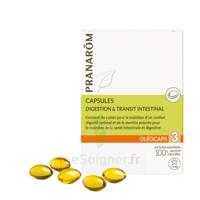 PRANAROM OLEOCAPS 3 Caps digestion & transit intestinal à Carbon-Blanc