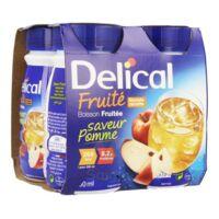 DELICAL BOISSON FRUITEE Nutriment pomme 4Bouteilles/200ml à Carbon-Blanc