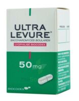 ULTRA-LEVURE 50 mg Gélules Fl/50 à Carbon-Blanc