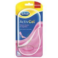 Scholl ActivGel™ Semelles  Pour Elle Talons Hauts & Aiguilles à Carbon-Blanc