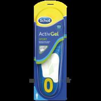 Scholl ActivGel™ Semelles Sport Homme à Carbon-Blanc