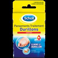 Scholl Pansements Coricides Durillons à Carbon-Blanc