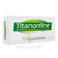 TITANOREINE Suppositoires B/12 à Carbon-Blanc