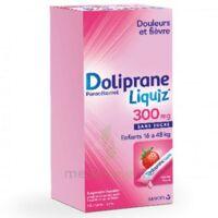 Dolipraneliquiz 300 mg Suspension buvable en sachet sans sucre édulcorée au maltitol liquide et au sorbitol B/12 à Carbon-Blanc