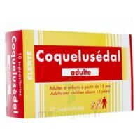 COQUELUSEDAL ADULTES, suppositoire à Carbon-Blanc