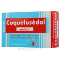 COQUELUSEDAL ENFANTS, suppositoire à Carbon-Blanc