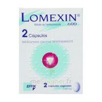 LOMEXIN 600 mg Caps molle vaginale Plq/2 à Carbon-Blanc