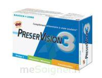 Preservision 3 Caps à visée ophtalmique B/60 à Carbon-Blanc