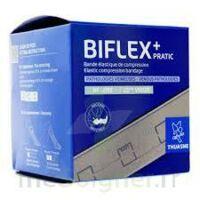 Biflex 16 Pratic Bande contention légère chair 8cmx3m à Carbon-Blanc