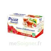Picot Maman Tisane d'allaitement Fruits rouges 20 Sachets à Carbon-Blanc